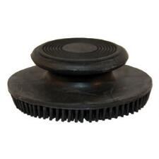 Rubber Facial Curry Comb Round
