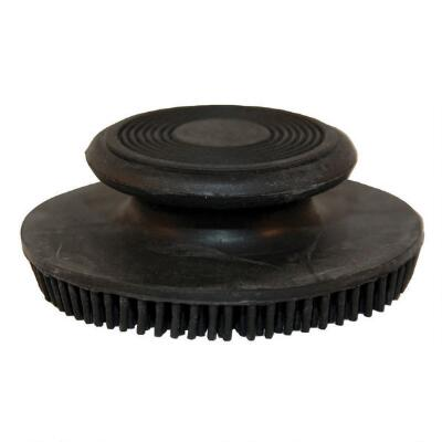 Round Rubber Facial Curry Comb