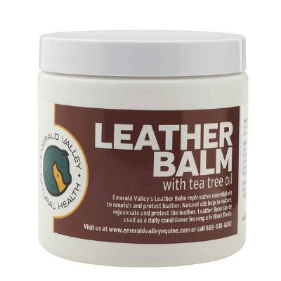 Emerald Valley Leather Balm  with Tea Tree Oil 16 oz