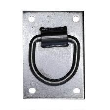 Wall Mount Tie Ring and Plate - TB