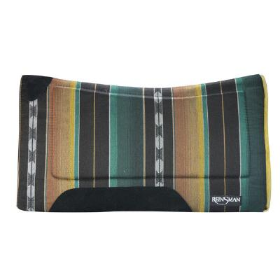 Contour Fleece Bottom Pattern Western Saddle Pad  32 x 32