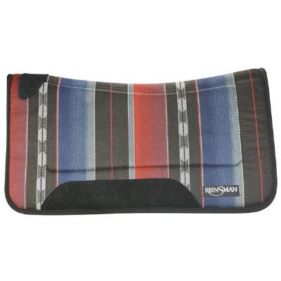 Tacky Too Contoured Pattern Western Saddle Pad 32 x 32