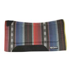 Contour Fleece Bottom Pattern Western Saddle Pad  32 x 32 - TB