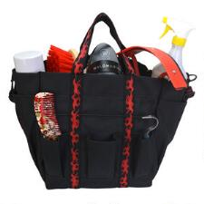 Grooming Tote with Horse Print Acent
