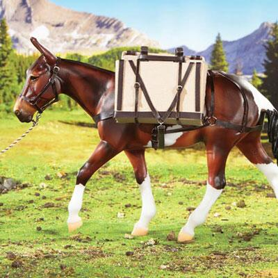Breyer Pack Saddle with Panniers Limited Edition