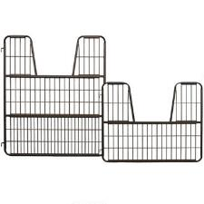Heavy Duty Metal Stall Gate by Scenic Road