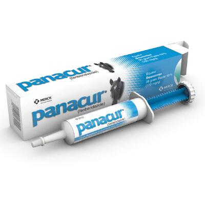 Merck Panacur Single Dose Paste Dewormer
