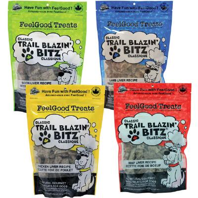 Feelgood Classic Trail Blazin Bitz Dog Treats 10.6 oz