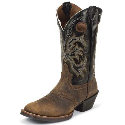 Justin® Stressed Buffalo Mens Western Boot