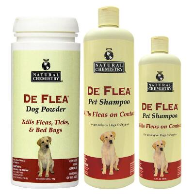 Deflea Pet Shampoo   16.9 oz