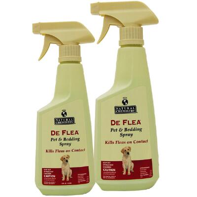 Deflea Pet & Bedding Spray 16.9 oz