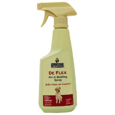 DeFlea Pet & Bedding Spray 24 oz