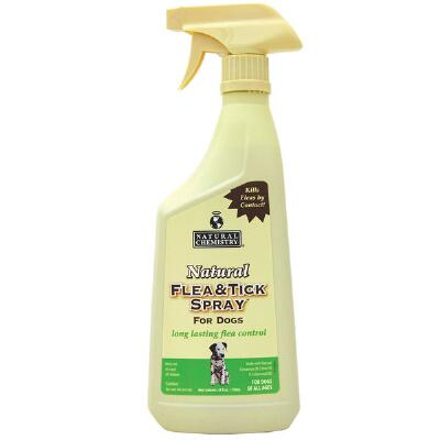Natural Chemistry Flea & Tick Spray for Dogs 24 oz