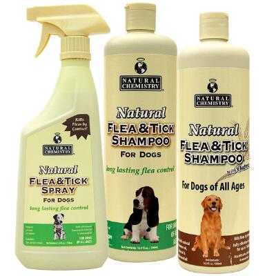 Natural Chemistry Flea & Tick Shampoo 16 oz