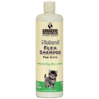 Natural Chemistry Flea & Tick Shampoo for Cats 16 oz