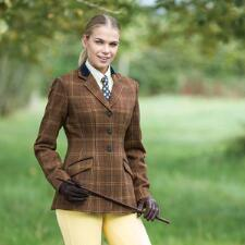 Equetech Marlow Deluxe Tweed Riding Jacket - TB