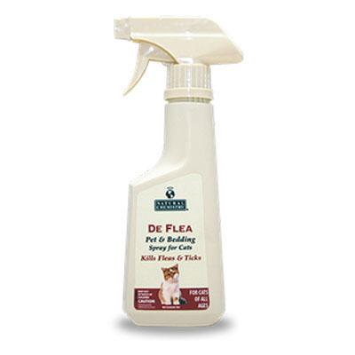 DeFlea Pet and Bedding Spray for Cats 8 oz