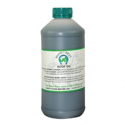 Worlds Best Hoof Oil 32 oz