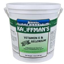 Kauffmans Vitamin E & Selenium Powder 4 lb - TB