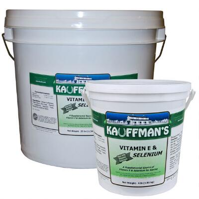Kauffmans Vitamin E & Selenium Powder 4 lb