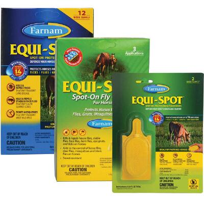 Equi Spot - Spot on Fly Control 12 Week Supply