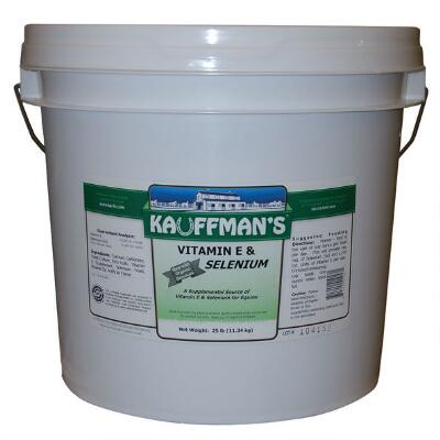 Kauffmans Vitamin E & Selenium Powder 25 lb