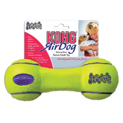 Air Kong Squeaker Dumbbell Large