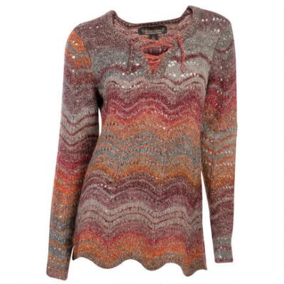 Noble Outfitters Denver Pull Over Knit Ladies Top