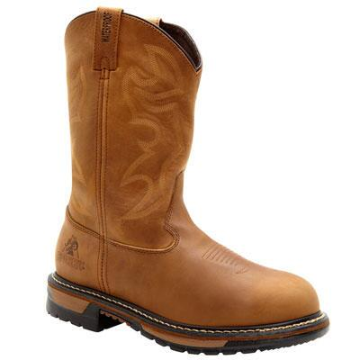 Branson Waterproof Western Mens Workboot