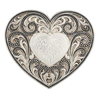 Western Classics Heart Whispers Belt Buckle