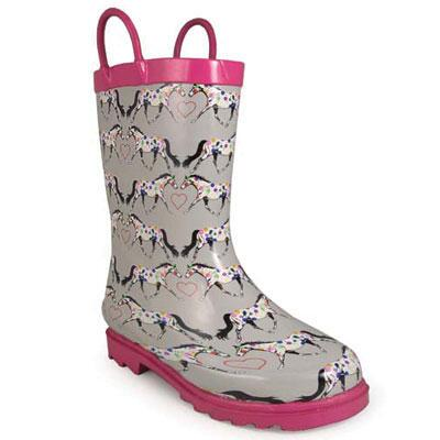Horseplay Girls Rubber Boot