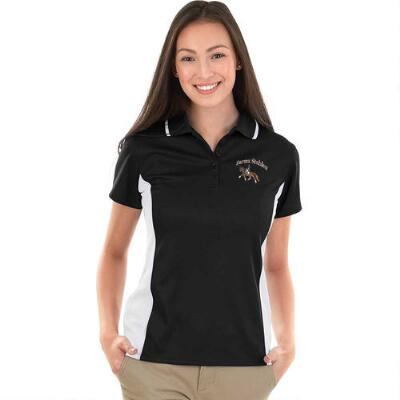 Custom Ladies Polo with Left Chest Embroidery