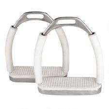 Jointed Stirrup With White Pads - TB