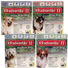 K9 Advantix II 4 pack - TB