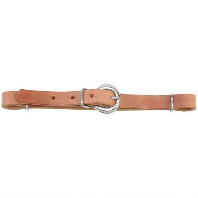 Curb Strap Russet Harness Leather Russet .63 in