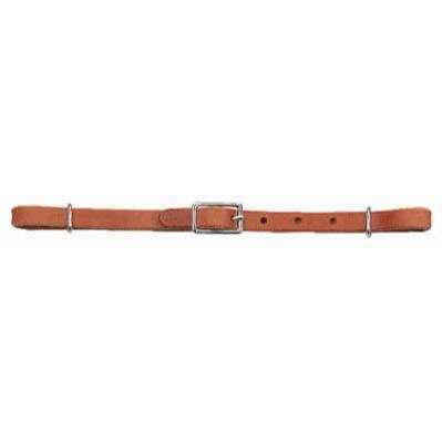 Curb Strap Half In Russet Harness Leather .50 in
