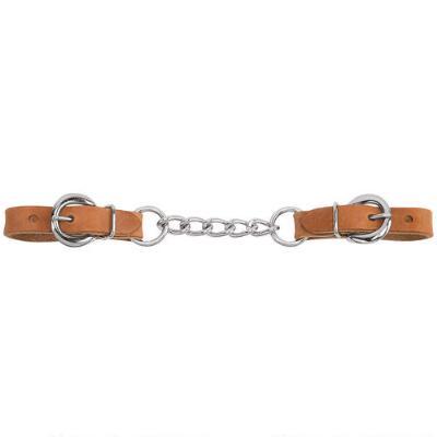 Curb Strap 3.5 In Heavy Duty Harness Leather
