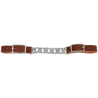 Weaver Single Flat Link Horizons Leather Curb Chain