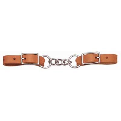 Weaver Curb Strap Heavy Duty Harness Leather