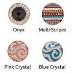 Interchangeable Western Tack Snaps with Crystals