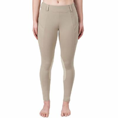 Irideon Bending Line Knee Patch Ladies Riding Tights