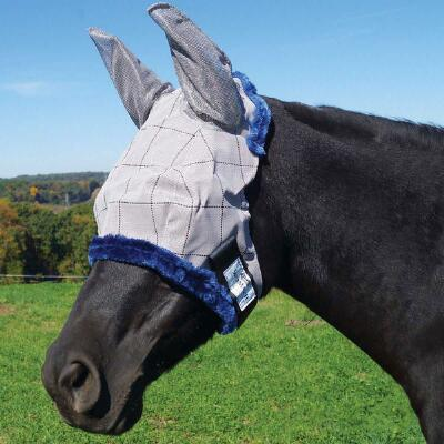 Farnam Supermask II Classic Fly Mask with Ears - XL Size