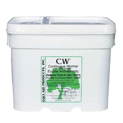 Cw 2x Daily Wormer 50 lb