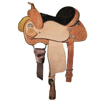Circle Y Little Cowpoke Barrel Saddle