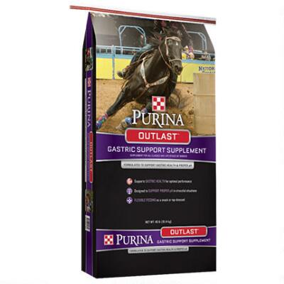Purina Outlast Gastric Support Pellet 40 lb