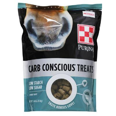 Purina Carb Conscious HorseTreats 5 lb