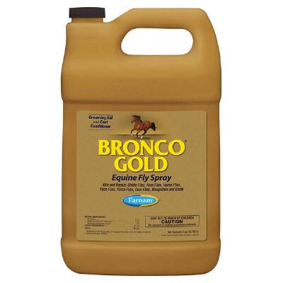 Farnam Bronco Gold Equine Fly Spray Gallon