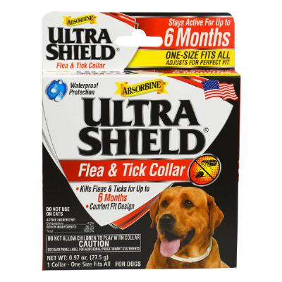 UltraShield Flea & Tick Collar lasts 6 months