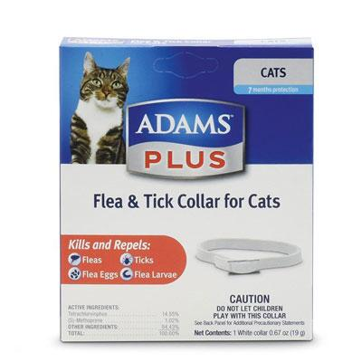 Adams Plus Flea & Tick Breakaway Collar for Cats and Kittens