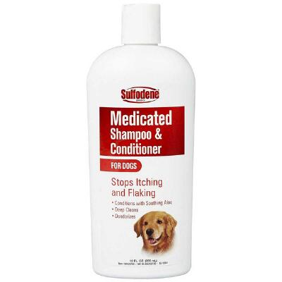 Sulfodene Medicated Shampoo Cond For Dogs